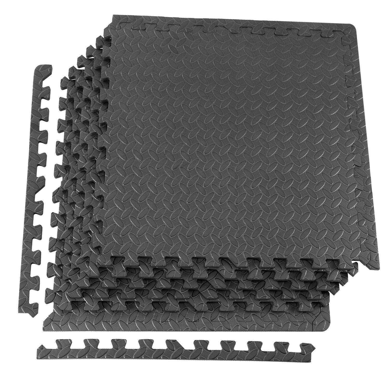 XPRT Fitness Multipurpose Interlocking Foam Floor Mat Exerci