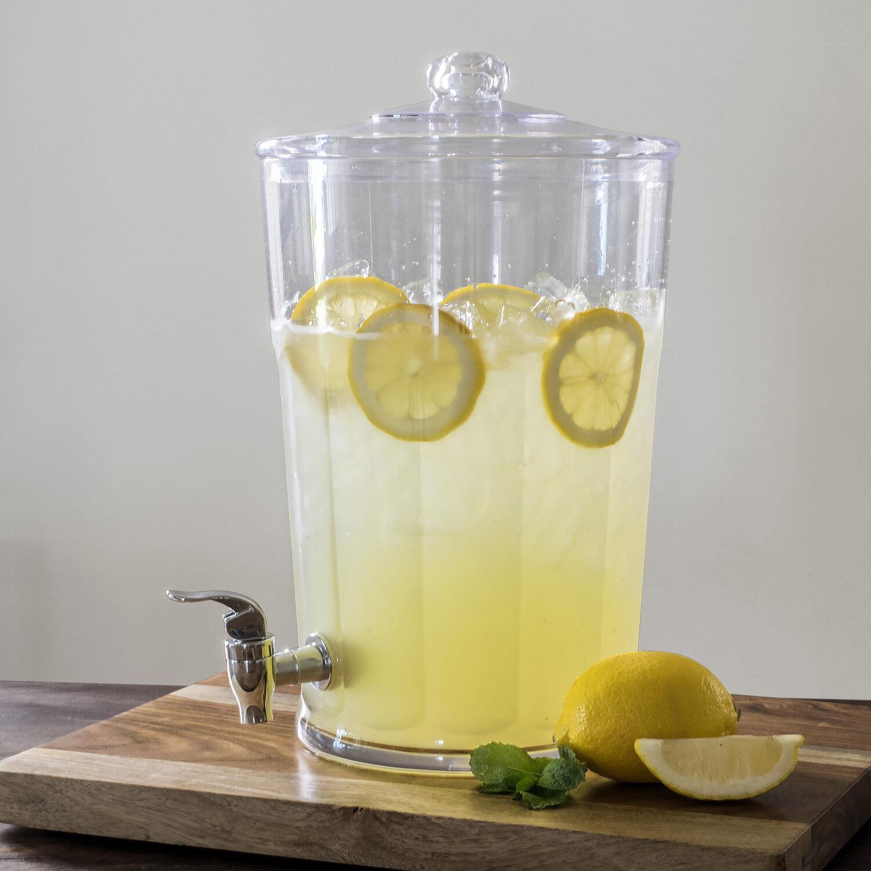 Diner Beverage Dispenser 1.6 Gallon Drink Water Cooler Outdo
