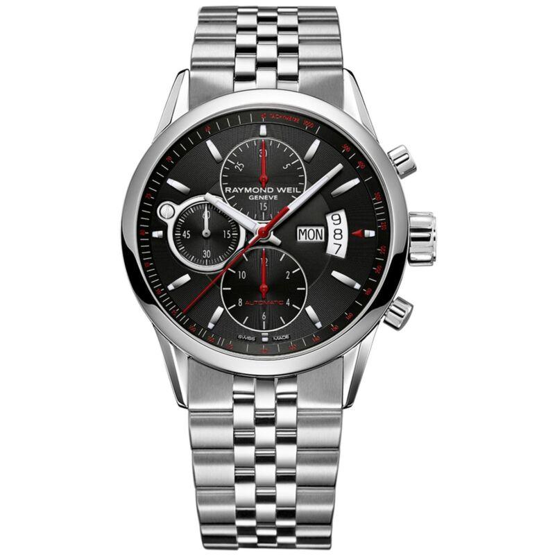 Raymond-Weil-7730-ST-20041-Men-Freelancer-Black-Automatic-Watch