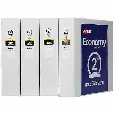 One 1 Avery 2 Economy View 3 Ring Binder Holds 8.5 X 11 Paper