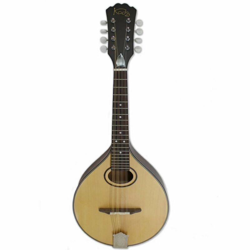 Mandola Koda A50C A Style Oval Hole Natural Open Back Tuner w/ Plastic Buttons