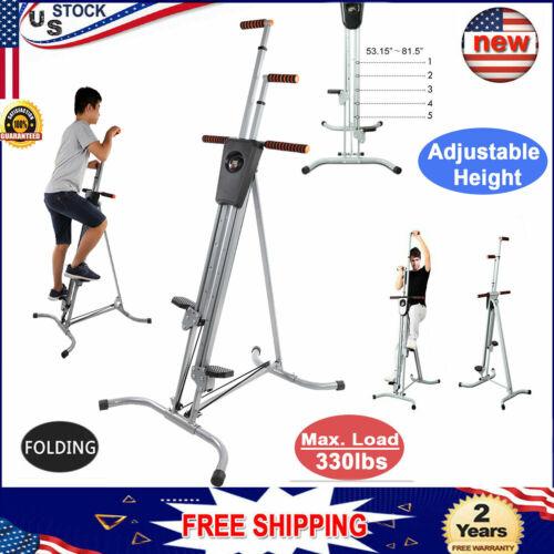 440lbs lcd vertical climber stepper climbing machine