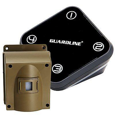 Professional Wireless Driveway Alarm w/ Lifetime Warranty by Guardline.