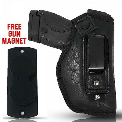 Combo IWB Gun Holster by PH + MAGNET- Best Concealed Carry Custom Fit