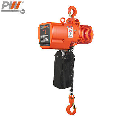 Prowinch 1 Ton Electric Chain Hoist 20 Ft G100 Chain H3 208230460v Wireless