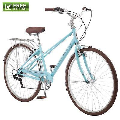 Schwinn Retro Bike 700C Women's Hybrid Bicycle City Cruiser