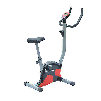 Soozier Stationary Exercise Bicycle Bike Cycling Cardio Health Workout Fitness