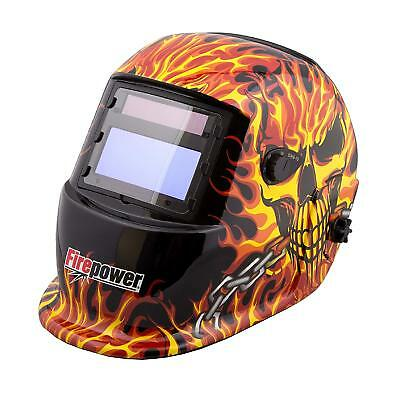New Firepower Victor 1441-0088 Skull Fire Welding Helmet
