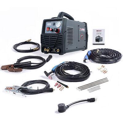 Cts-160 Combo 3-in-1 Dc Welder 30a Plasma Cutter 160a Tigstickarc Welding New