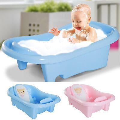 badewanne 2-stufig Babywanne Badesitz Baby Kunststoff 88x49cm Rosa/Blau