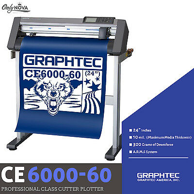 GRAPHTEC CE6000-60 PLUS Vinyl Cutter Plotter+FREE Stand & FREE Shipping