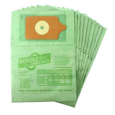 Numatic Henry Hetty Hoover Replacement Vacuum Cleaner Paper Dust Bags Pack of 10