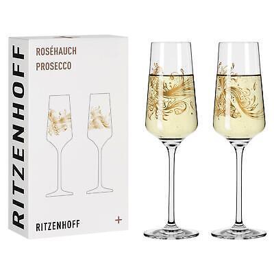 2er Set Ritzenhoff Roséhauch 05 + 06 Sektglas, Proseccogläser Si Scott 2021