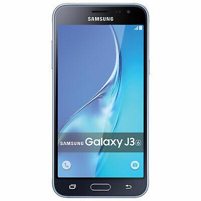 "Samsung Galaxy J3 Unlocked 5"" 16GB GSM 4G LTE Android Smartphone Black SM-J320W8"