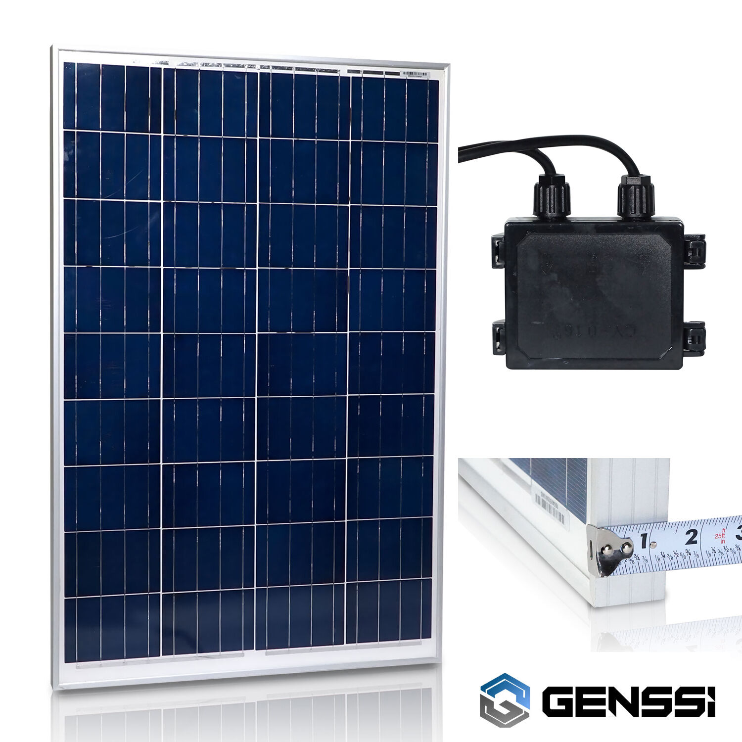 1KW 500W 400W 300W 200W 100W Solar Panel for 12V/24V Home RV