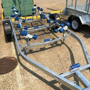 𝗦𝗔𝗟𝗘 𝗡𝗢𝗪 𝗢𝗡 - New Braked Boat Trailer with 1500KG ATM QLD Coopers Plains Brisbane South West Preview