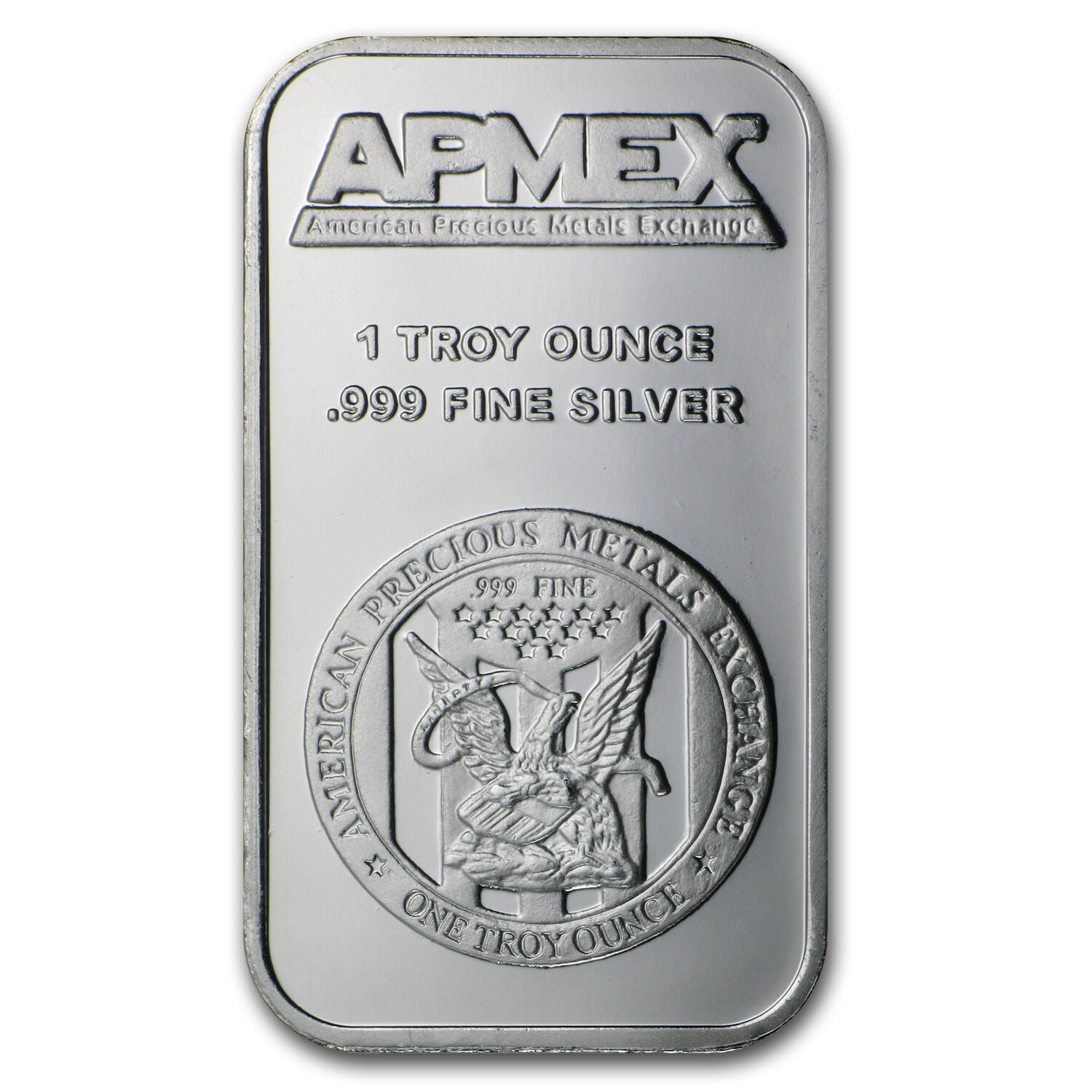1 Oz Apmex Silver Bar 999 Fine Lot Of 10 Sku 81774