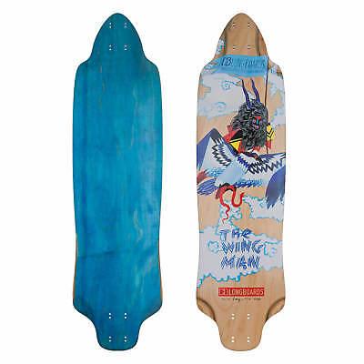 DB Longboards Wingman Downhill Longboard Deck Top Mount