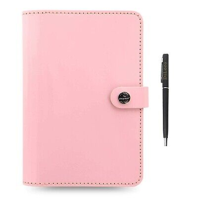 Filofax The Original Leather Organizer Agenda Any Year Not Dated Diary Calend...