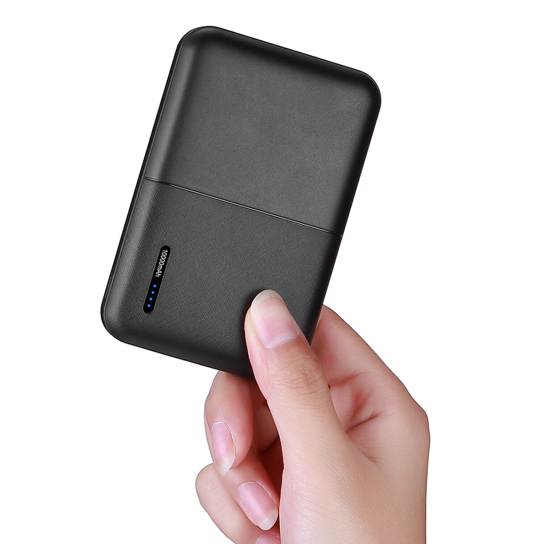 10000mAh Dual USB Power Bank Portable Charger External Batte
