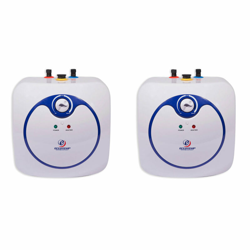 Eccotemp EM 2.5 Gallon Under Sink Electric Mini Hot Water Heater (2 Pack)