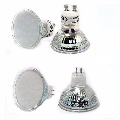 10 x LED GU10 GU5,3 MR16 Lampe Licht Spot Strahler 3 Watt 12V o. 230V