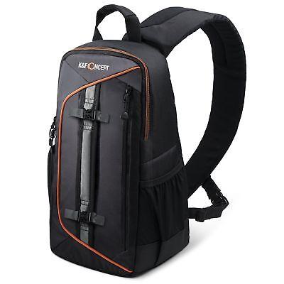 K&F Concept Sling Camera Should Bag Backpack Case for Canon Nikon Sony DSLR SLR