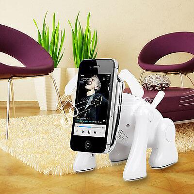 Cute Wireless Bluetooth Speaker Puppy Shape MicroSD FM Radio Xmas Gift For Kids on Rummage