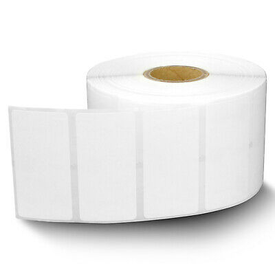 Zebra Compatible Direct Thermal Removable Labels Barcode Tags2 X 1 In 4 Rolls