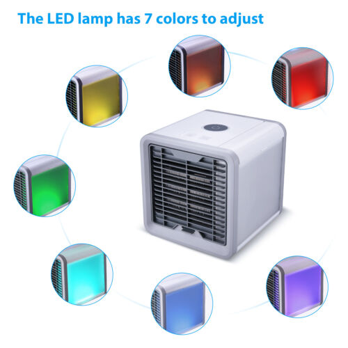 Personal Portable Cooler AC Air Conditioner unit Air Fan Humidifier Purifier US