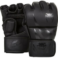 Venum Mma Challenge Mma Fight Gloves Black Martial Arts Ufc Sparring Training - venum - ebay.co.uk