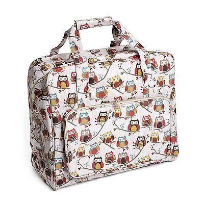 Sewing Machine Bag (PVC) - Hoot ( Owls )  - Hobbygift - MR4660195