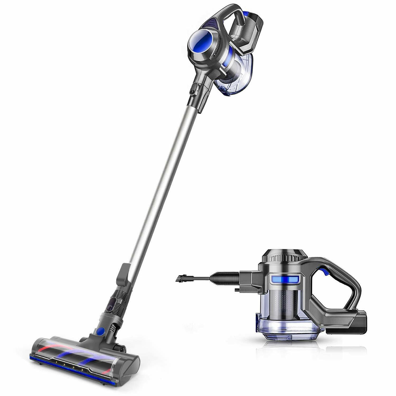 MOOSOO XL-618A Cordless Vacuum 10Kpa  Suction 4 in 1 Stick H