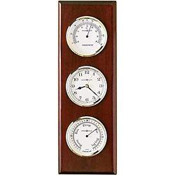 Howard Miller Shore Station Wall Clock 625-249  Thermometer & Barometer, Quartz
