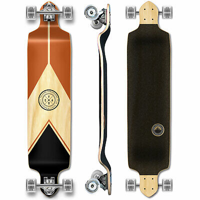 YOCAHER Drop Down Longboard Complete - Earth Series - Mountain (GCDD122)