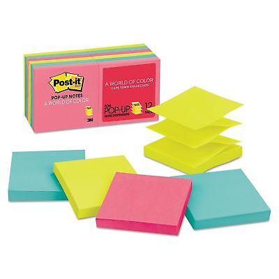 Post-it Pop-up Notes - Original Pop-up Refill 3 X 3 Capetown 100pad - 12 Pad