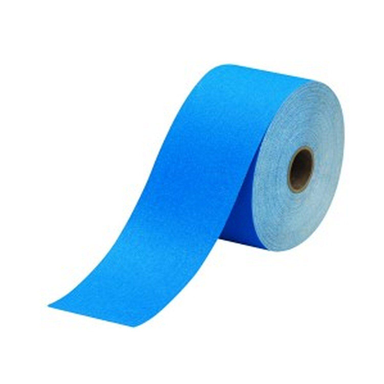 3M 36221 Stikit Blue Abrasive Blocking Paper Roll 2.75 in x 30 yd 180 Grit