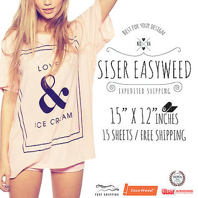 Siser Easyweed Heat Transfer Vinyl (15