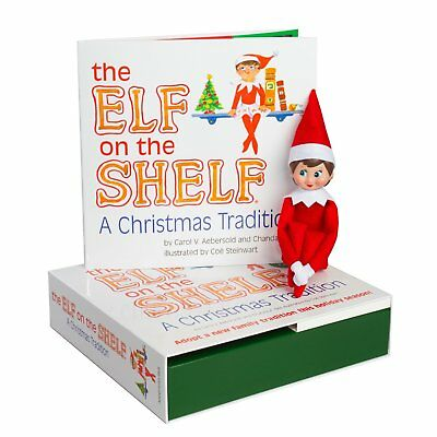 Elf on the Shelf: A Christmas Tradition Blue-Eyed Girl Light Skinned Scout Elf