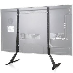 WALI Universal LCD Flat Screen TV Table Top Stand / Base fits 22