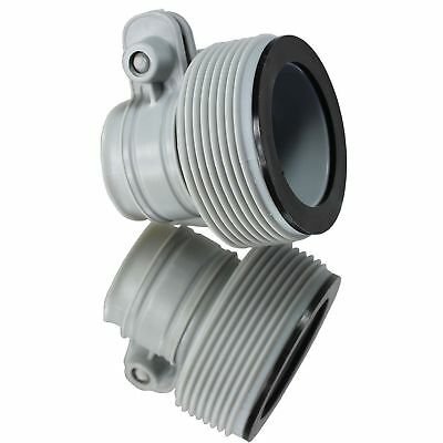 Intex Hose Adapter Conversion Kit for 1500 2500 Filter Pumps 25009 10722