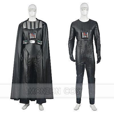 Star Wars Darth Vader Anakin Cosplay Costume For Adult Men Full Set Halloween Darth Vader Costume Set