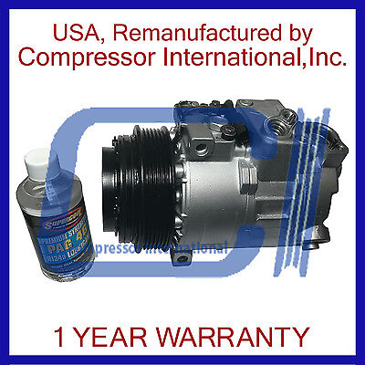 (1996-2008 Mercedes-Benz,Chrysler,Dodge Reman A/C Compressor By CI)