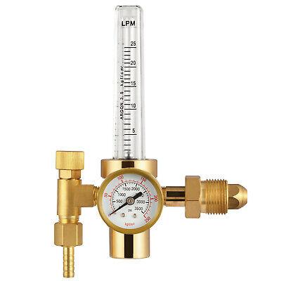 Agr-01 Tig Argon Flow Meter Regulator Welder Welding Soldering Gas Gauge