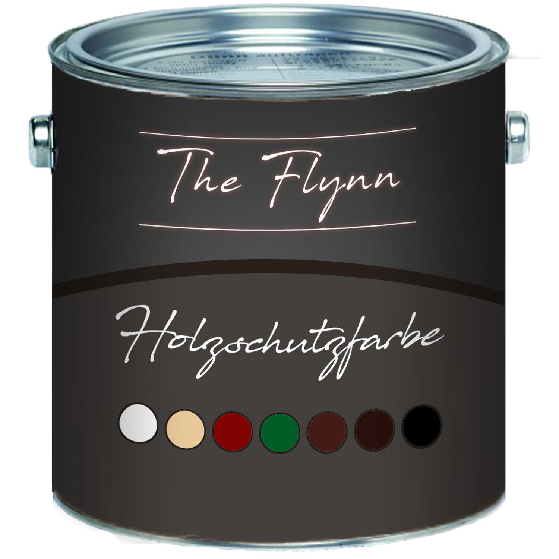 The Flynn Holzschutzfarbe Wetterschutzfarbe in 7 Farbtönen für Außen und Innen