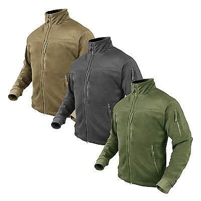 Condor 601 ALPHA Polyester Mesh Lined Micro Fleece Pocketed Winter Jacket -
