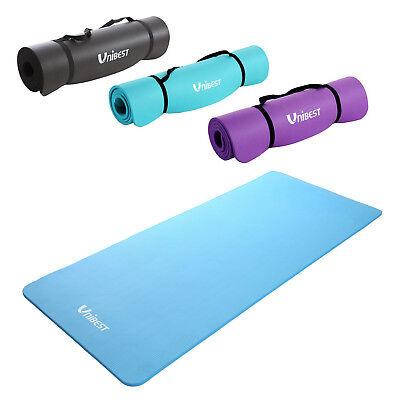 Unibest Fitnessmatte Gymnastikmatte Yogamatte Turnmatte NBR-Matte 15mm