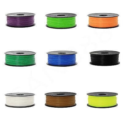 3D Printer Filament Pla 1 75Mm 1Kg 2 2Lb Makerbot Multiple Colour Us