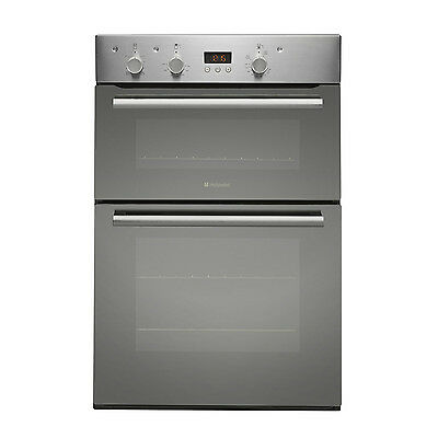 Hotpoint Studio Collection DKD53CX Built in Double Oven - Stainless Steel