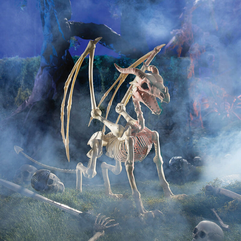 Dragon Skeleton Halloween Decoration - Home Decor - 1 Piece